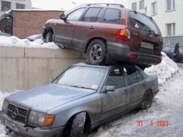 1057 Parking Fails (20 photos)