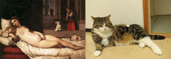 1111 Cats Imitating Art (21 photos)