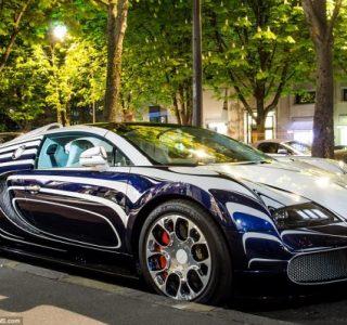 Bugatti Veyron Made Of Porcelain (6 photos)