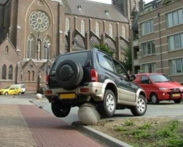 1196 Parking Fails (20 photos)