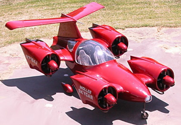 1229 Flying Cars Of The Future (15 photos)