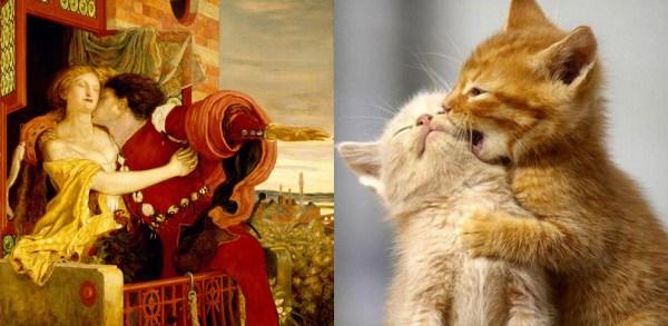 144 Cats Imitating Art (21 photos)