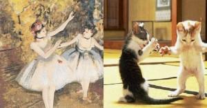 Cats Imitating Art (21 photos) 15