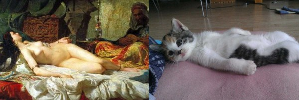172 Cats Imitating Art (21 photos)