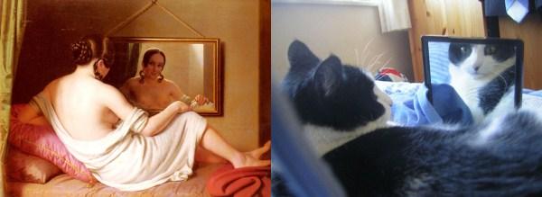 192 Cats Imitating Art (21 photos)