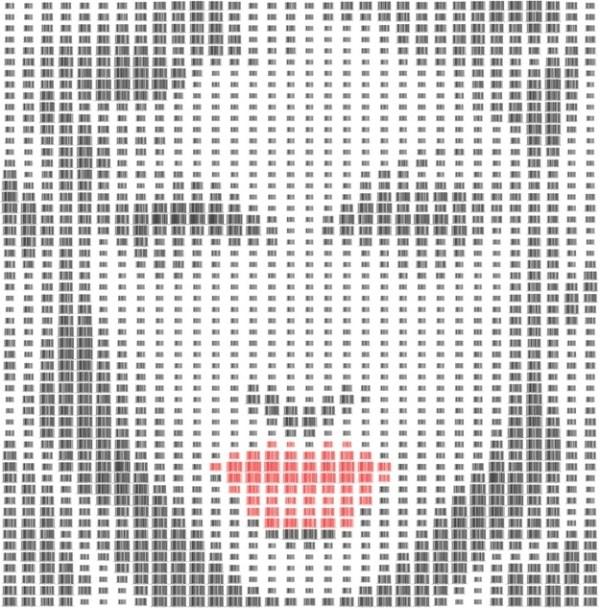 Barcode Portraits Of Celebrities (10 photos) 2