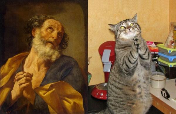 218 Cats Imitating Art (21 photos)