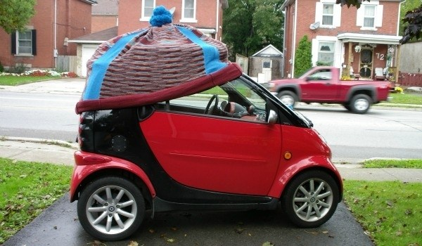 The Coolest Car Yarn Bombs (15 photos) 3