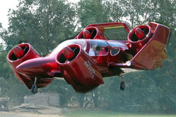 348 Flying Cars Of The Future (15 photos)