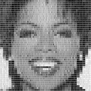Barcode Portraits Of Celebrities (10 photos) 3
