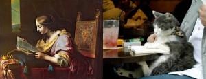 Cats Imitating Art (21 photos) 3
