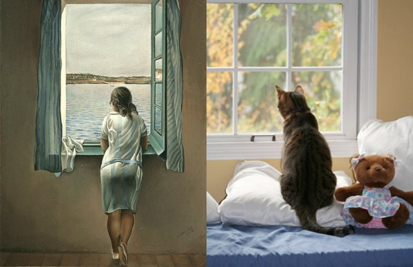 Cats Imitating Art (21 photos) 4