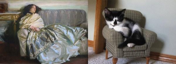 67 Cats Imitating Art (21 photos)