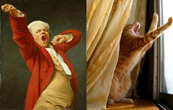 86 Cats Imitating Art (21 photos)
