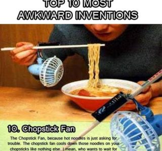 Top 10 Most Awkward Inventions (10 photos)