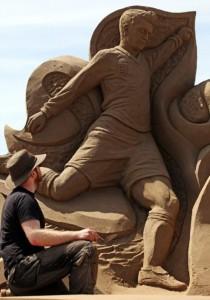 Sand Sculpture Festival (23 photos) 10
