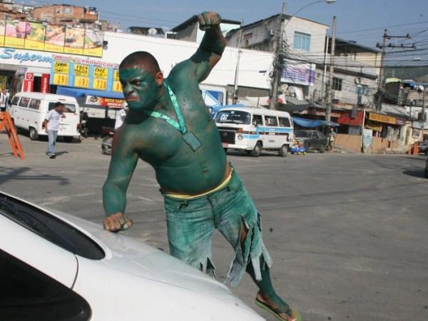 1111 Real Life Incredible Hulk (11 photos)