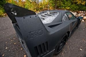 Carbon Fiber Wrap Ferrari F40 (10 photos) 1