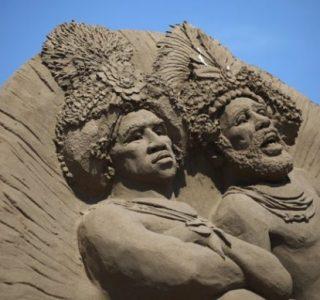 Sand Sculpture Festival (23 photos)