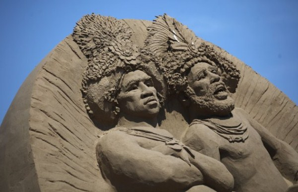 Sand Sculpture Festival (23 photos) 21