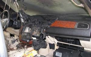 GPS Battery Explosion (5 photos) 2