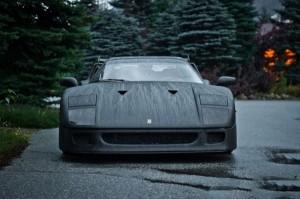 Carbon Fiber Wrap Ferrari F40 (10 photos) 2