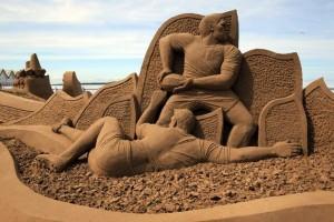 Sand Sculpture Festival (23 photos) 5
