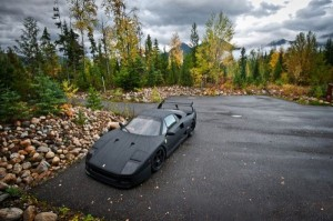 Carbon Fiber Wrap Ferrari F40 (10 photos) 5