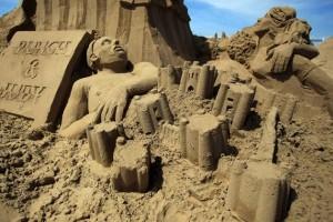 Sand Sculpture Festival (23 photos) 8