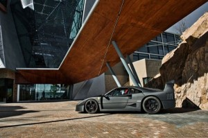 Carbon Fiber Wrap Ferrari F40 (10 photos) 9