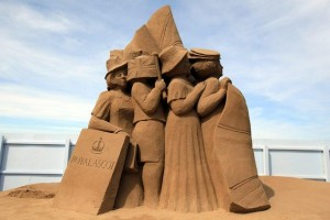 Sand Sculpture Festival (23 photos) 9
