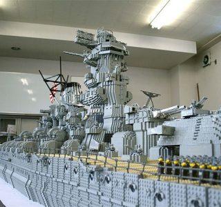 Lego Battleship (7 photos)