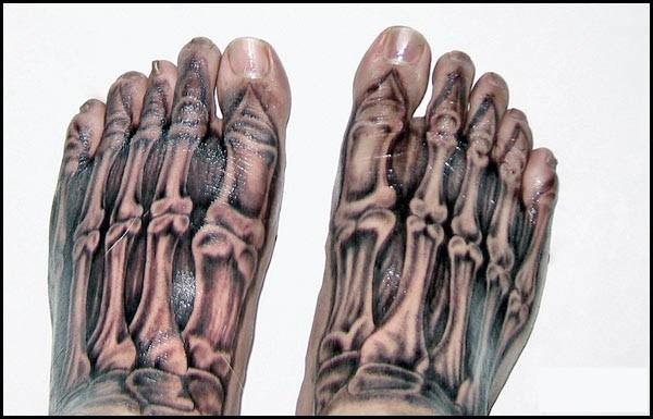 102 terrivelmente Hiper Tatuagens Realistas (19 fotos)