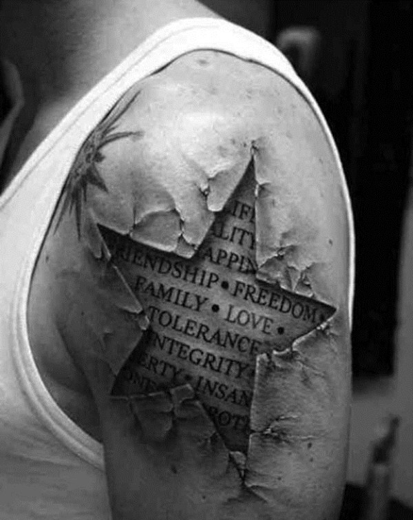 132 terrivelmente Hiper Tatuagens Realistas (19 fotos)