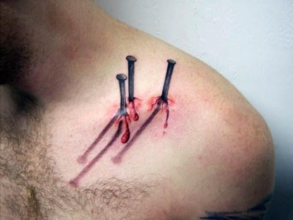23 terrivelmente Hiper Tatuagens Realistas (19 fotos)