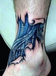 Terrifyingly Hyper-Realistic Tattoos (19 photos) 8