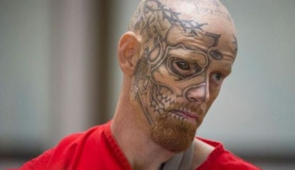Terrifying Criminal with a Tattooed Eyeball (4 photos) 3