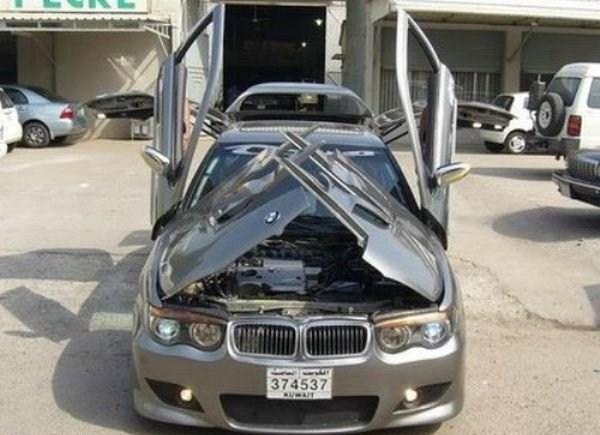 BMW with Crazy Doors (9 photos) 1