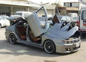 BMW with Crazy Doors (9 photos) 2