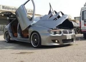 BMW with Crazy Doors (9 photos) 7