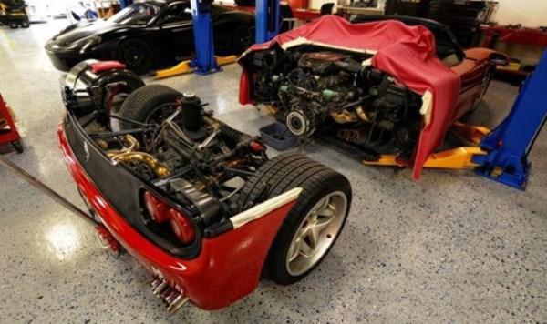 Ferrari F50 Clutch Replacement (6 photos) 1