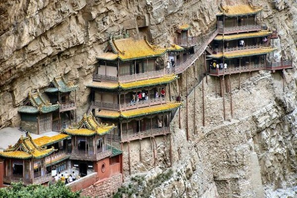 Hanging Temple in China (13 photos) 1