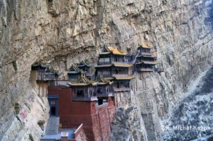 Hanging Temple in China (13 photos) 11