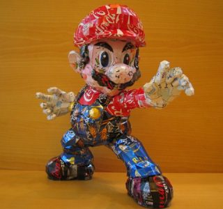 Sculptures Made From Recycled Cans (32 photos)
