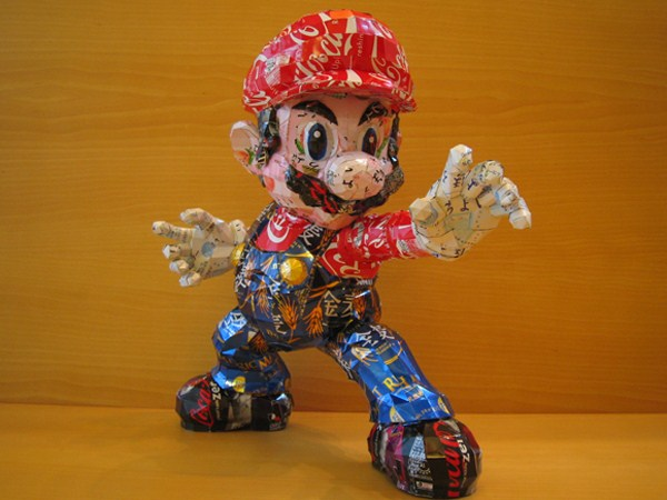 Sculptures Made From Recycled Cans (32 photos) 1