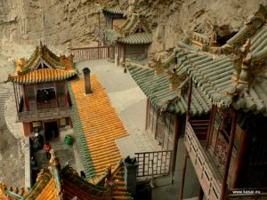 Hanging Temple in China (13 photos) 13