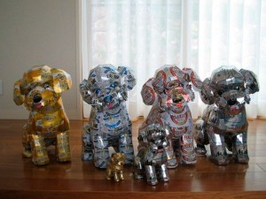 Sculptures Made From Recycled Cans (32 photos) 13