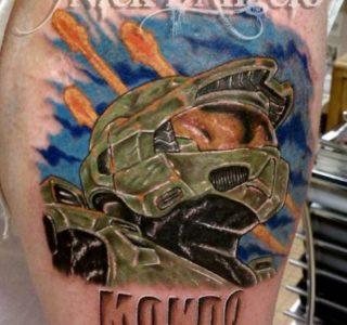 Fantastic Halo Tattoos (35 photos)