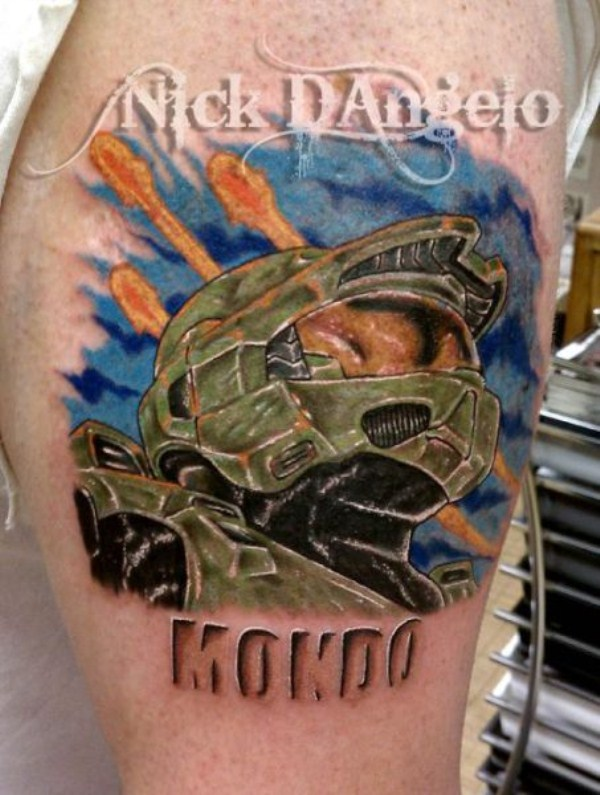 Fantastic Halo Tattoos (35 photos) 14