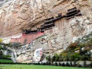 Hanging Temple in China (13 photos) 2